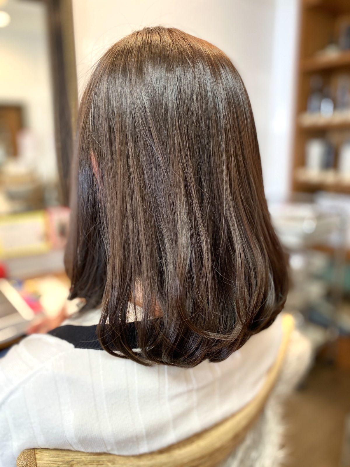 毛先ふんわり髪質改善ストカール  自由が丘美容室mieno