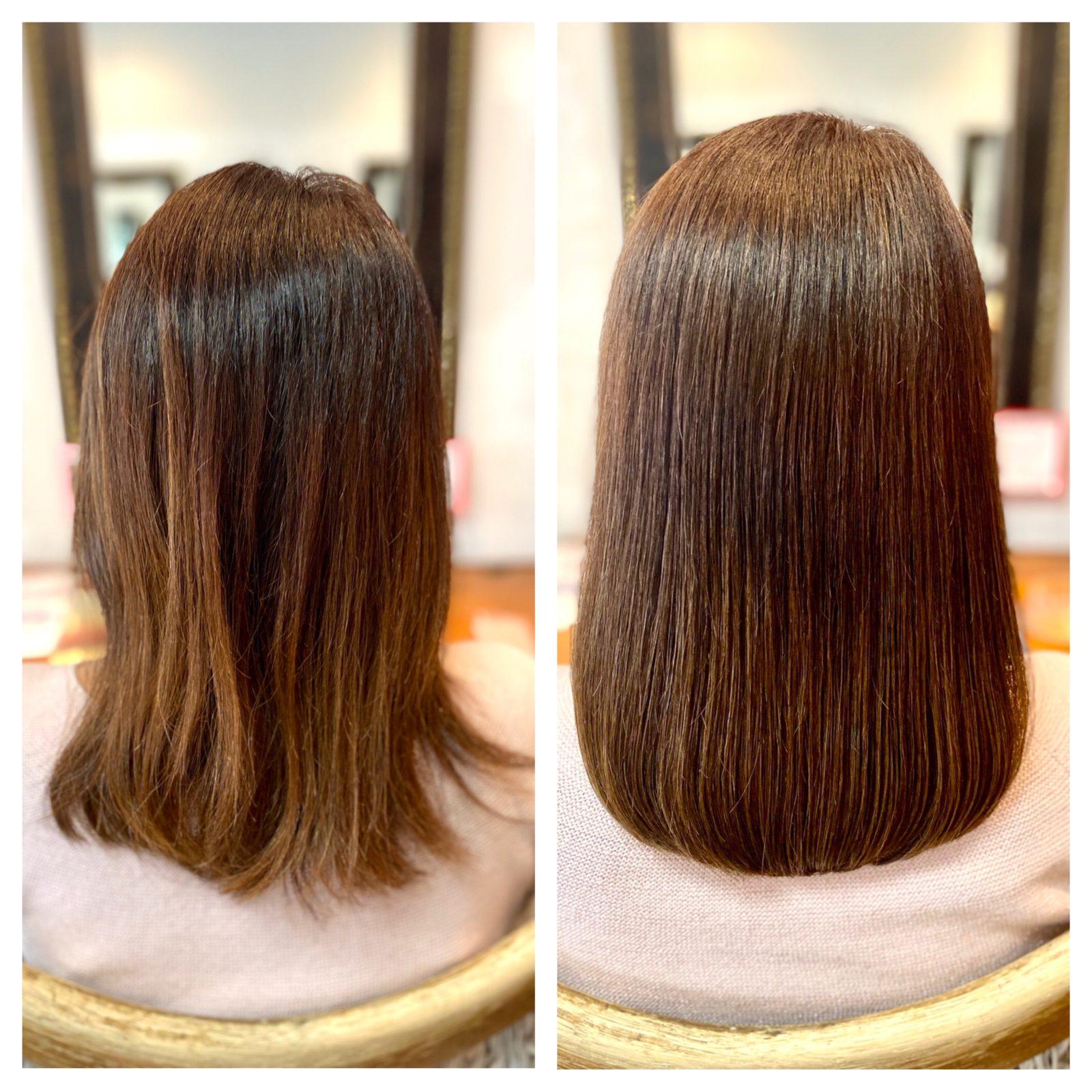 髪質改善ストレート 自由が丘美容室mieno
