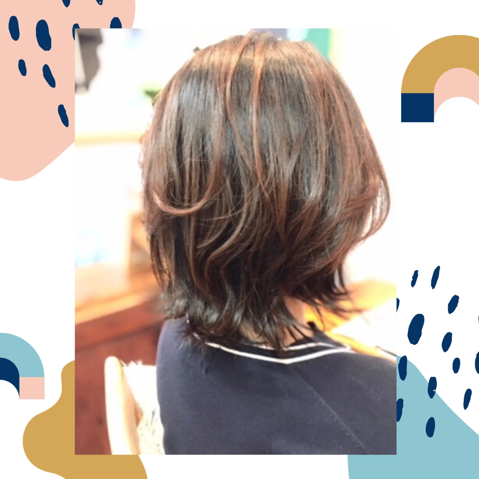 ふんわり自然な仕上がり髪質改善パーマ 自由が丘美容室mieno