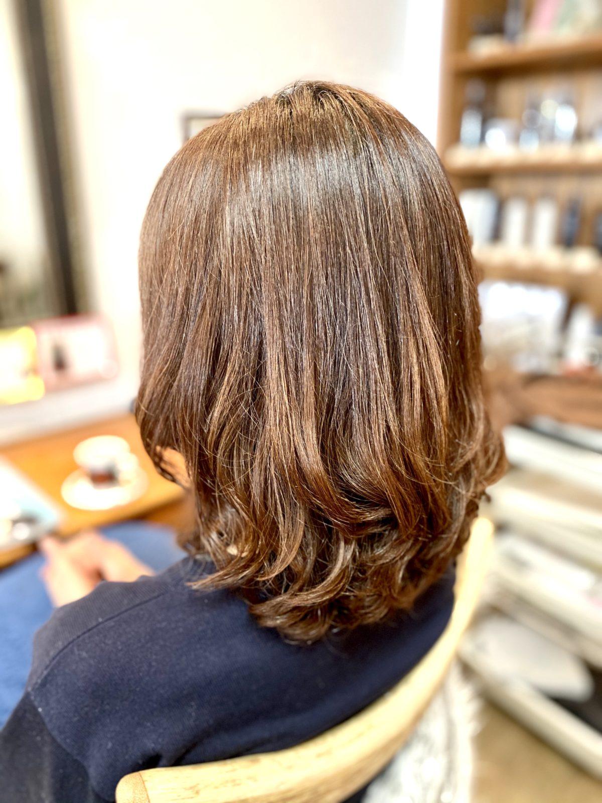 髪質改善パーマ 自由が丘美容室mieno