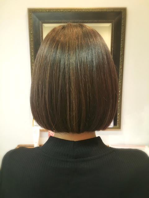 髪質改善後の写真