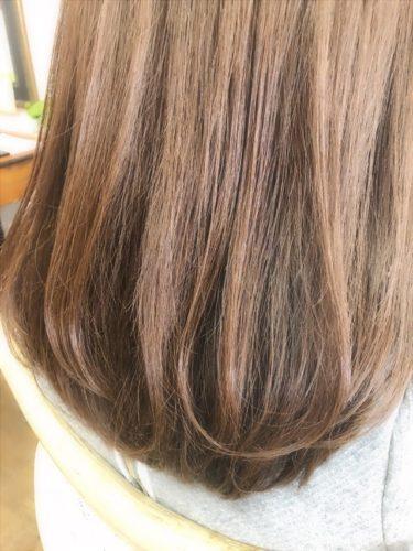 毛先ワンカールの髪質改善デジタルパーマ
