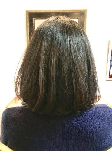 髪質改善ストカールの前の写真