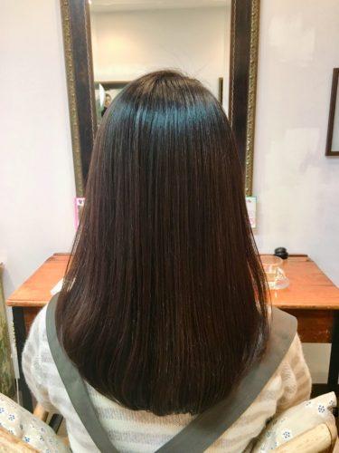 髪質改善で自然な仕上がり!