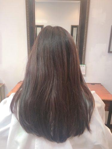 髪質改善ストレートをする前の状態!