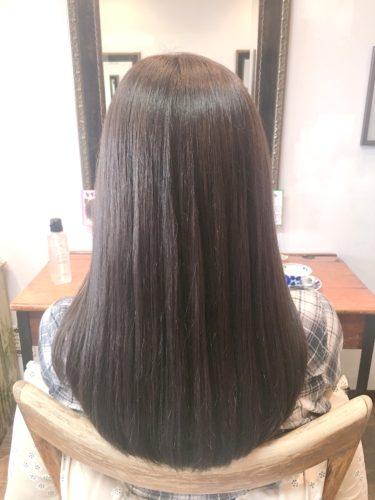 髪質改善ストレート後の状態はこんな感じ!