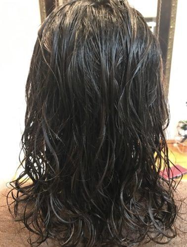 髪質改善デジタルパーマ施術後!
