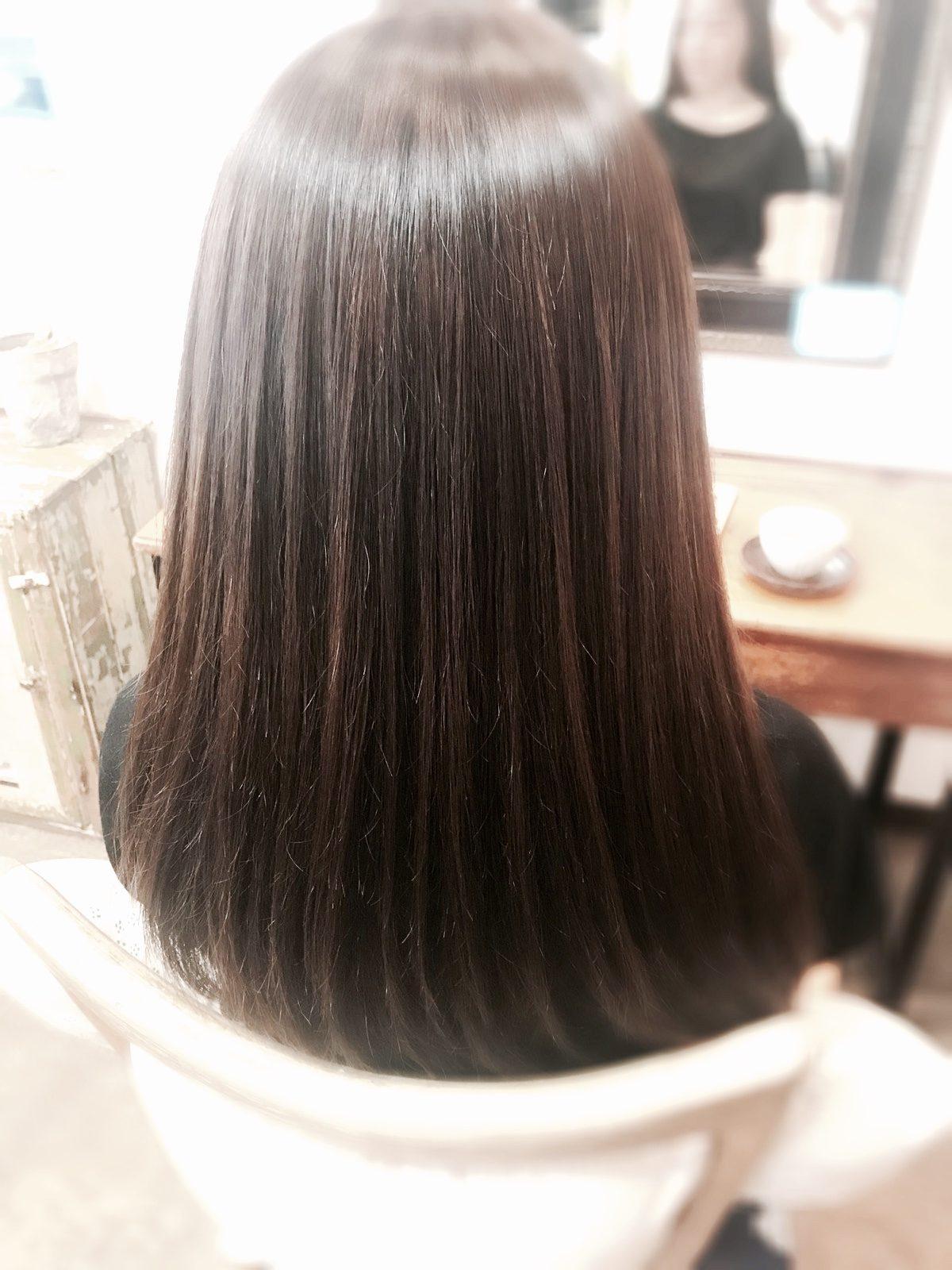 髪質改善カラーはツヤカラー!