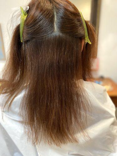 髪質改善ストカールafter写真