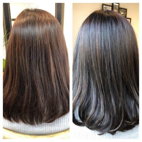 髪質改善トリートメントで溢れる艶髪