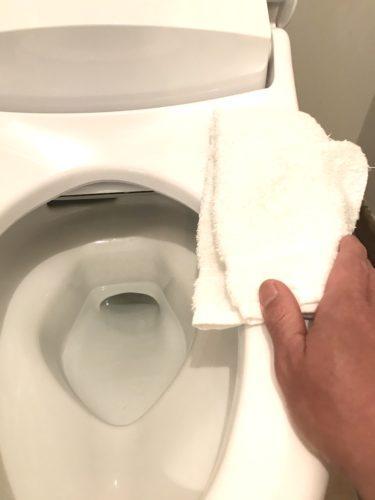 お手洗いの消毒