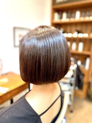 ノンジアミンカラーで溢れる艶髪