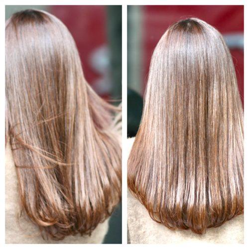 髪質改善で−5歳のツヤ髪