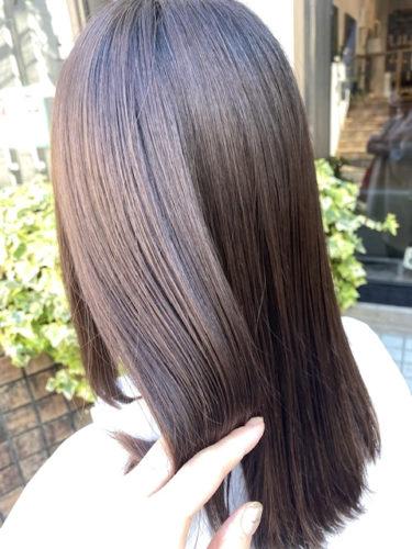 髪質改善ストレートロング