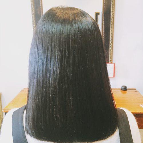 髪質改善ストレートボブミディアム
